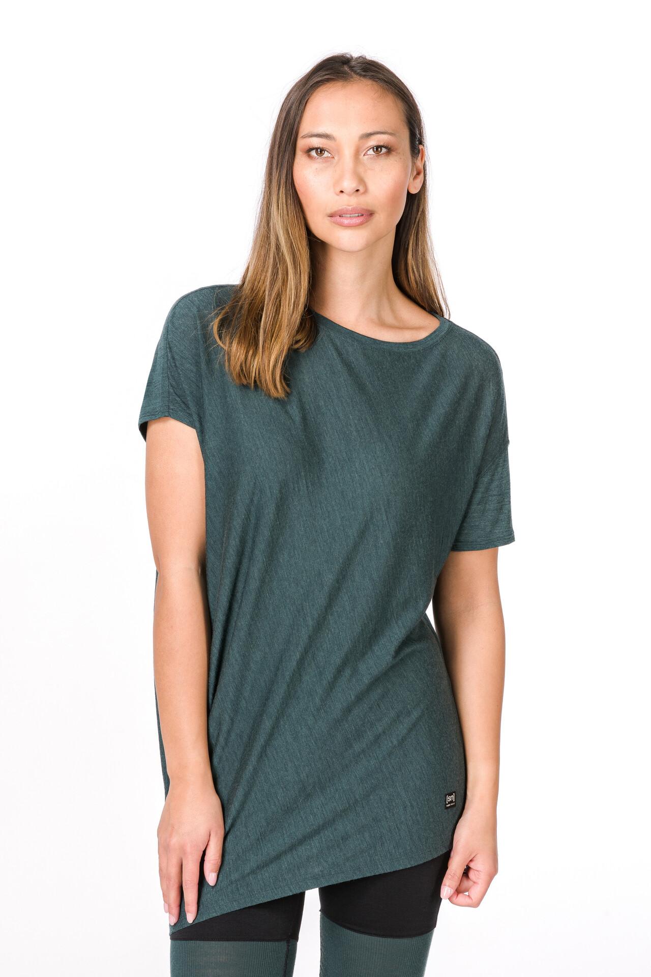 Ample T Yoga Moss Shirt FemmeSea Super natural CEdBeWxoQr